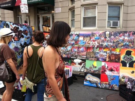 Harvard Ave Popup Market